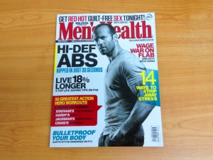 Men'sHealth Malaysia Dec 2013 cover